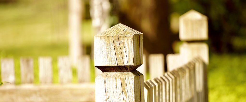 garden fence, fence, wood fence