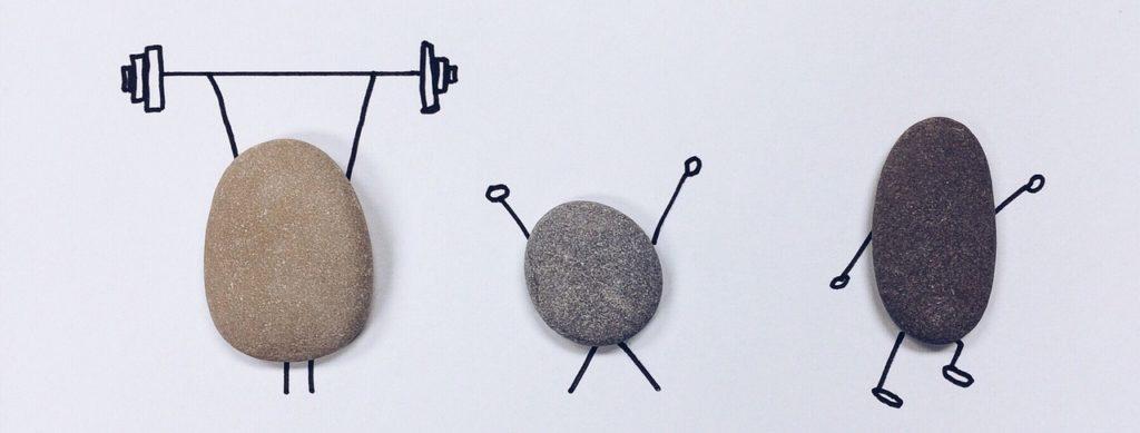 rock, art, craft